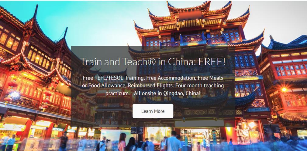 FREE TEFL TESOL Course in China